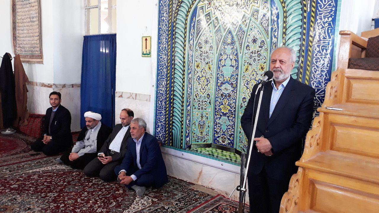 سفر استاندار خراسان جنوبي به شهرستان بشرويه (24 دي ماه 96 )
