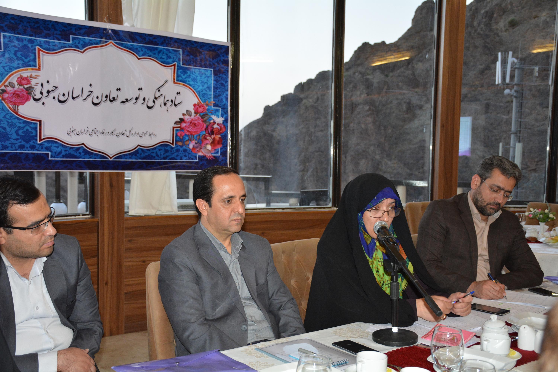 اولين جلسه ستاد هماهنگي و توسعه تعاون استان برگزار شد.